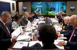 videoconference obama