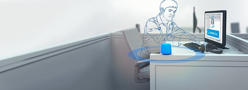 Kuando: das Leuchtsignal in Open Space Büros