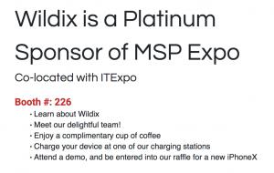 Platinum Sponsor at MSP Expo