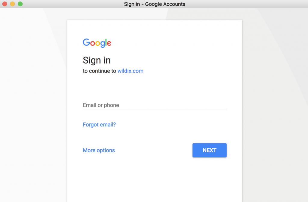 Google Single Sign-On